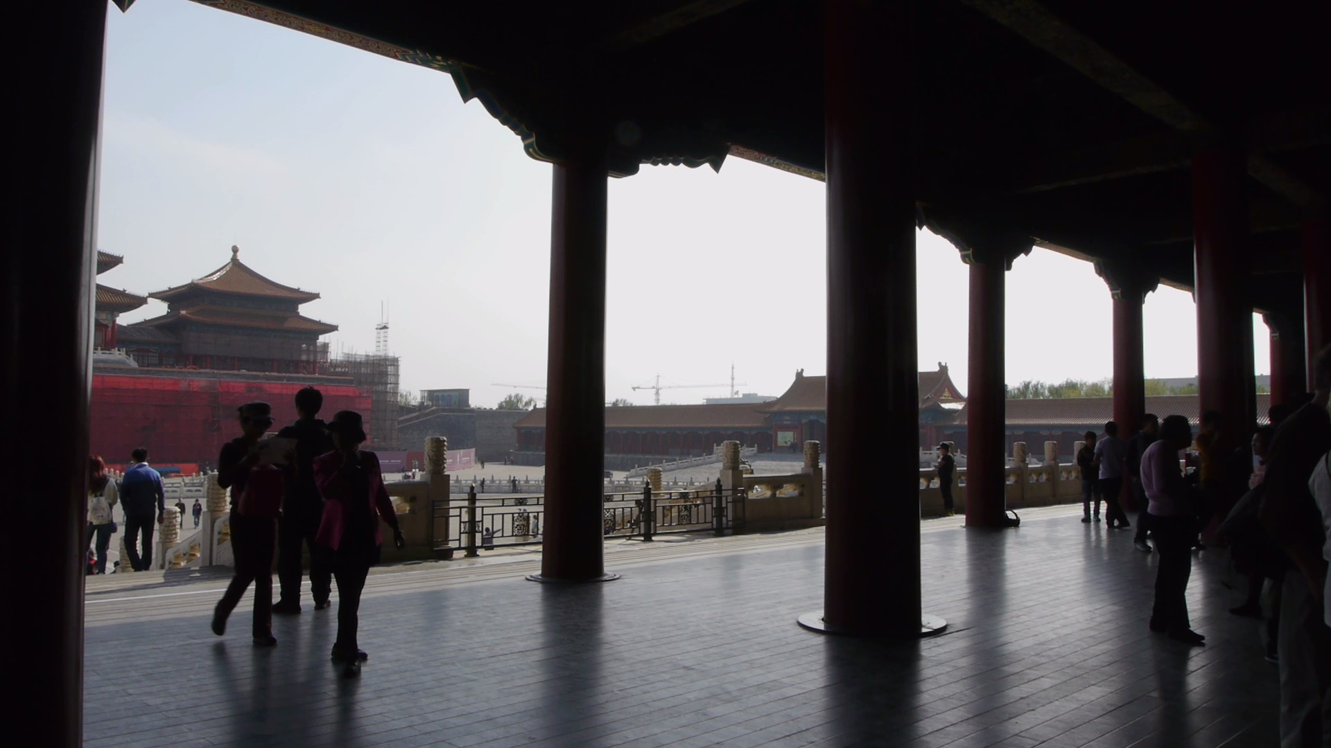 Through the Gates of the Forbidden City